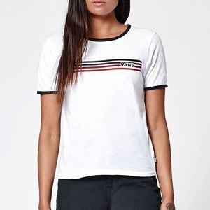 Van's XS Fitted Ringer Shirt